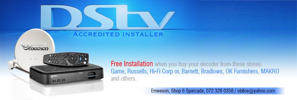 DSTV banner